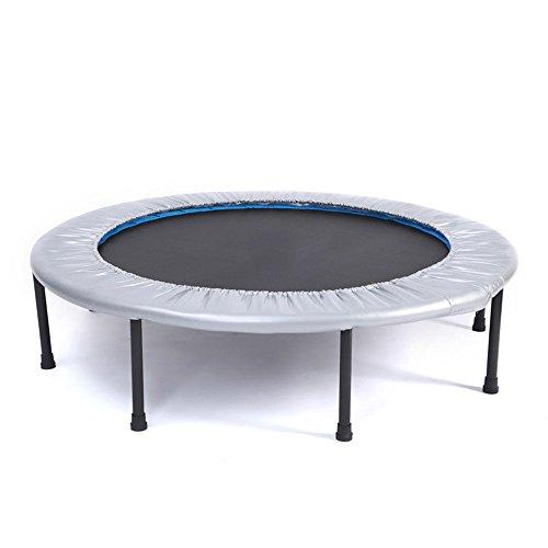 WyaengHai Fitness trampoline Gemakkelijk te demonteren, Sterk en slijtvast Binnen Volwassen Bungee Bed Fitness Trampoline Grijs Familie aerobics voor gebruik binnen