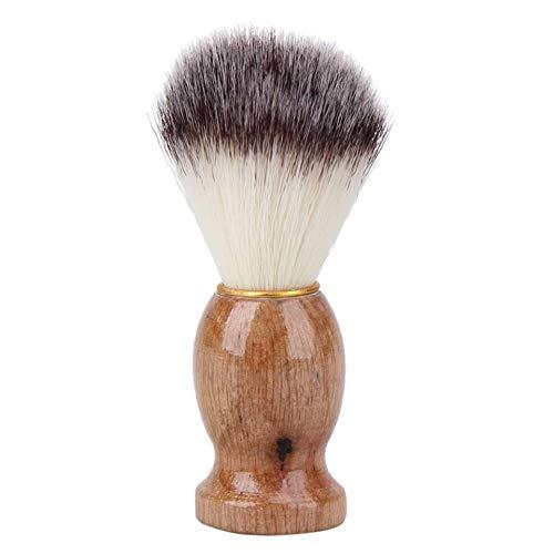 ZHOUSITONGEU Houten handvat scheerkwast Facial Baard Cleaning Appliance Shave Salon Badger Hair Tool Razor Brush