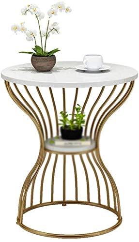 XXT Litet soffbord trumformat litet soffbord golv tidningsställ järn säng vardagsrum soffa bord hållbar