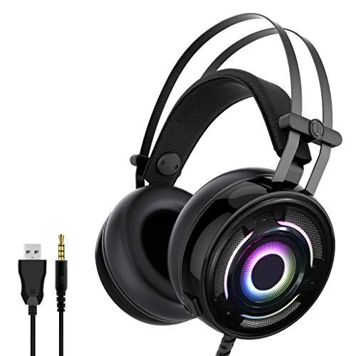 Yoging 1 juego de auriculares estéreo con cable para NS Switch/Switch Lite/X-Box One, PS4 PC Accesorios informáticos