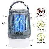 IREGRO Insektenvernichter Camping, UV Insektenvernichter, Camping Mückenlampe, Mückenschutz,...