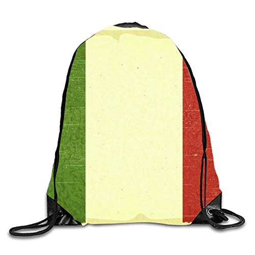 Lsjuee Different Items Sackpack Drawstring Backpack Waterproof Gymsack Daypack for Men Women