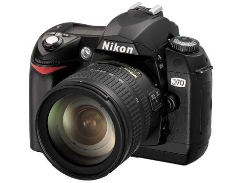 Nikon D70 Digital Foto Body 6.1MP CCD Negro - Cámara digital (6,1 MP, CCD, 595 g, Negro)