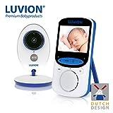 LUVION Easy Plus - Vigilabebés Inalambrico con Cámara Video, 2.4' LCD,visión...