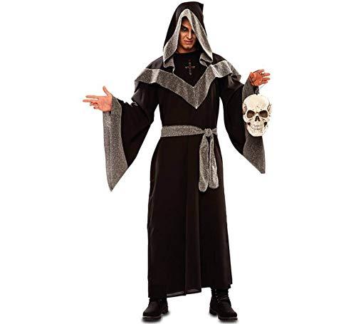 EUROCARNAVALES Disfraz de Hechicero Oscuro para Hombre