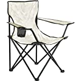 Arcoiris Silla de Camping, Silla de Acampada Plegable (Blanco, 1pack)
