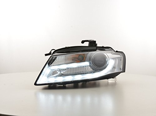 FK Automotive FKFSAI016003 Tagfahrlicht Scheinwerfer Xenon Daylight, Chrom