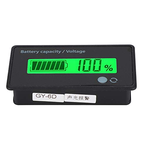 Amazing Deal Lantro JS Battery Capacity Monitor, LCD Battery Display, Durable 12-84V for Iron Batter...