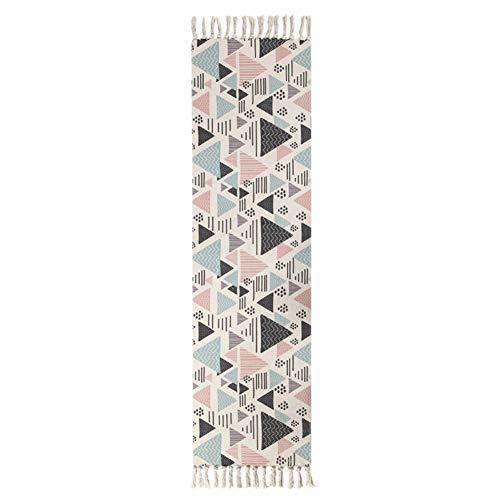 HONGBI Tapis et couvertures de Bain imprimés par 3D Style National, Tissu de Flanelle Antidérapant Tapis de Salle de Bains Absorbant Tapis Couleur 5 60x130cm