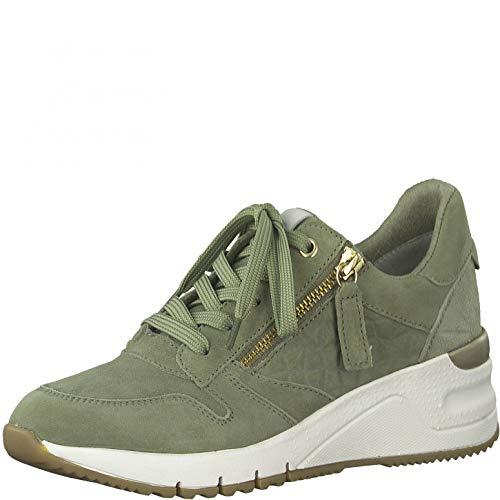 Tamaris Damen Sneaker 1-1-23790-26 763 grün Größe: 39 EU