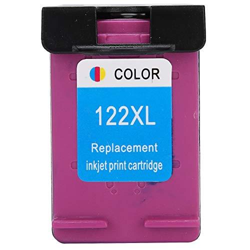 Eulbevoli Gran compatibilidad, impresión Clara, Cartucho de Tinta, Cartucho de Tinta de Impresora, con Orificio de Tinta, para HP Deskjet 1050 para HP Deskjet 1000(Color)