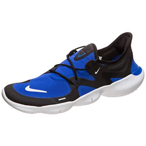 Nike Performance Free RN 5.0 - Zapatillas de Running para Hombre, Azul y Negro, 11 US - 45 EU - 10 UK