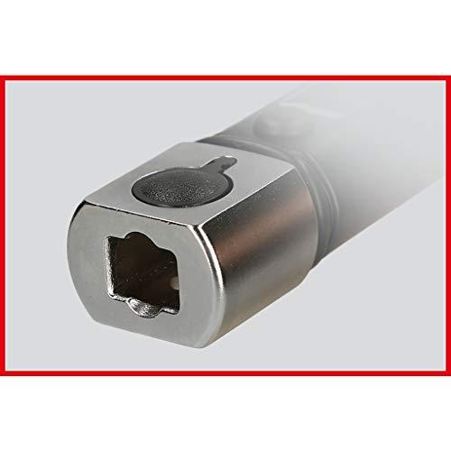 KS Tools 516.1632 Chiave Dinamometrica, ErgotorquePrecision con Attacco Utensili ad Innesto, 10-100 NM, 9X12 mm