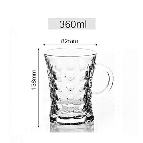 Ltong 6 stuks set whisky wijnglas bier sap kristal beker whisky brandewijn wodka glazen 11 keuzes transparante bar club keuken decor, roze, 6 stuks