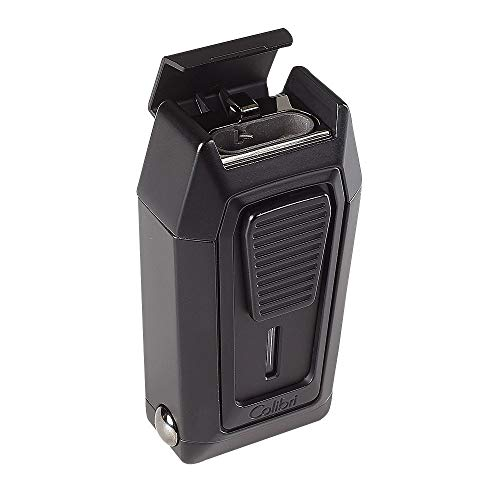 COLIBRI QUANTUM TRIPLE JET LIGHTER WITH V-CUTTER - MATTE BLACK