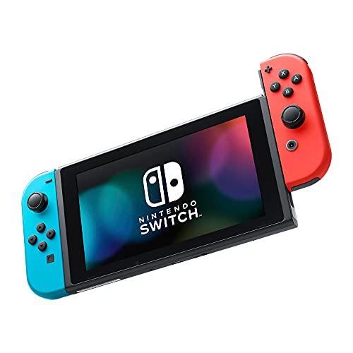 Nintendo Switch Versão 2 com Joy-Con Azul/Vermelho