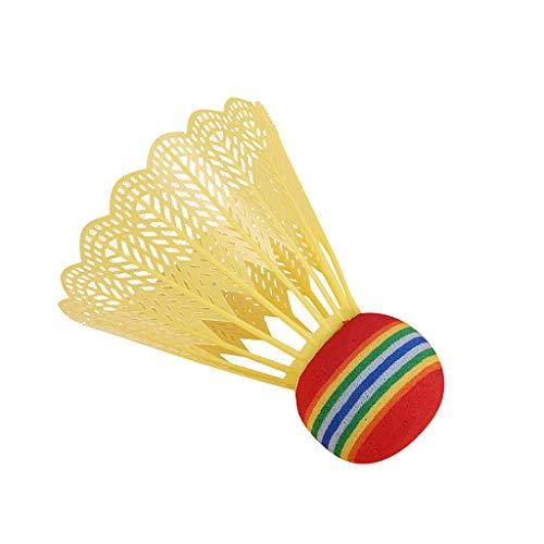 Best Bargain MODOQO 8Pcs Badminton Ball for Adults Children Indoor Outdoor Sport Game