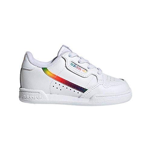 Adidas EG8978-21, Zapatilla para Correr en Carretera Unisex bebé, Weiß, 21 EU