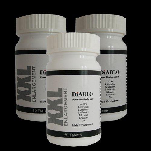 自信 増大サプリ Diablo(ディアブロ)(一番人気3個+1個プレゼント)