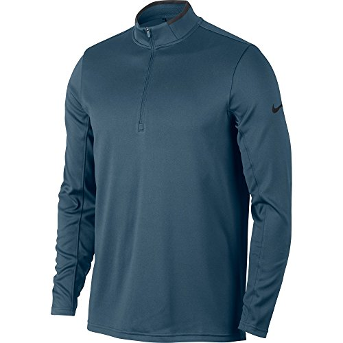 Save %8 Now! Nike Men's Dri-FIT Half-Zip Long Sleeve Golf Top, Small