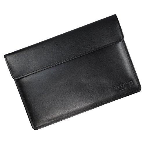 THEMIS Security Ultimate GEN 5 Leder Tablet Hülle klein - 4 Lagen Abschirmung, WLAN/GSM/LTE/RFID/NFC Abschirmhülle geeignet für iPad Mini
