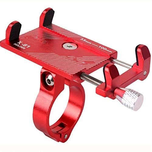 PXD913 fietshouder van aluminiumlegering, navigatiehouder vaste houder voor mobiele telefoons op de fiets