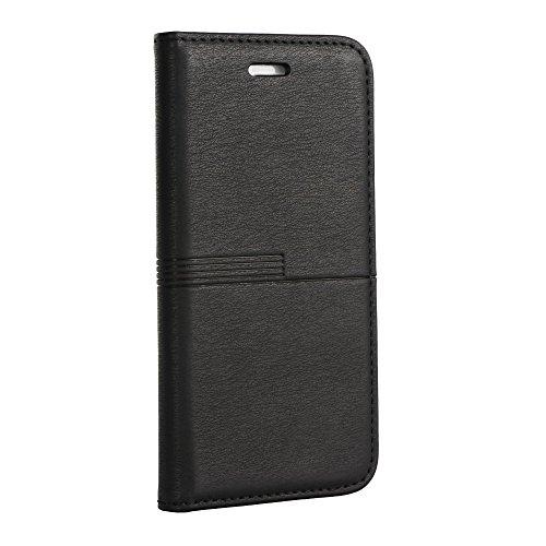 Book Case Urban zwart/zwart voor Huawei Mate 10 Pro Book Case bescherming hoes mobiele telefoon hoes boek vorm cover mobiele telefoon tas flipcase etui kunststof TPU houder voor creditcards