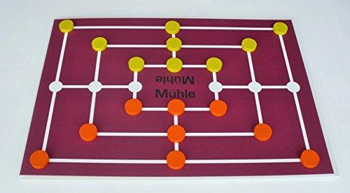 G&S Magnetisches Brettspiel Mühle