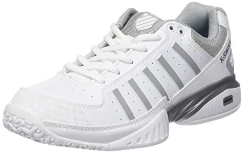 K-Swiss Performance KS Tfw Receiver IV Omni, Zapatillas de Tenis Mujer, Blanco (White/Highrise 01), 37 EU