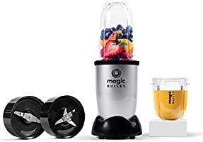 Magic Bullet 400 Watts, 6 Piece Set, Multi-Function High-Speed Blender, Mixer System with Nutrient Extractor, Smoothie...