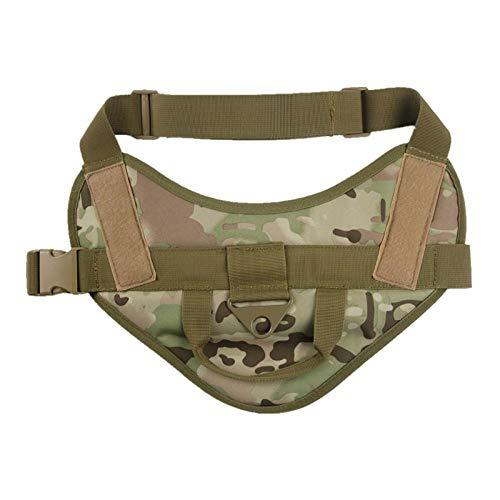 HondenriemNylon Molle Jachthondenkleding Militaire politiehondvest Outdoor Combat Training Dog Vest Tactical Service Dog Harness-CP_L