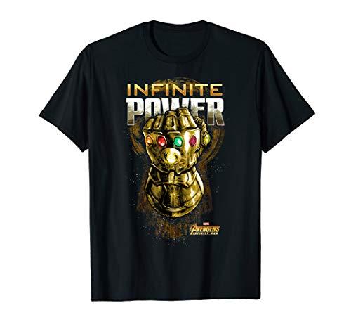 Marvel Avengers: Infinity War Infinite Power Gauntlet Poster T-Shirt