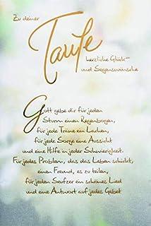 Taufkarte Spruch Pate