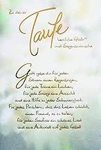 Suchergebnis Auf Amazonde Für Glückwunschkarten Zur Taufe