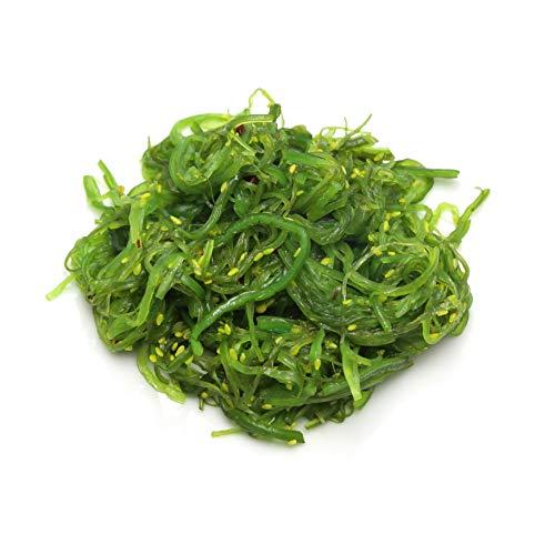 Marky's Caviar Chuka Wakame Seasoned Sesame Seaweed Salad - 4.4 Lb. (NO MSG), green