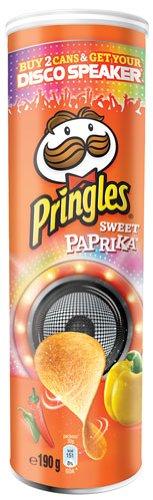 Pringles Base Sweet Paprika - 190gr - 6x