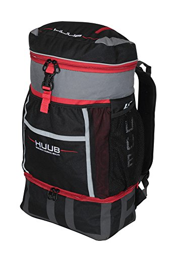 HUUB Transition Bag Triathlon Sport Competición Mochila Cambio zonas funda (Red)