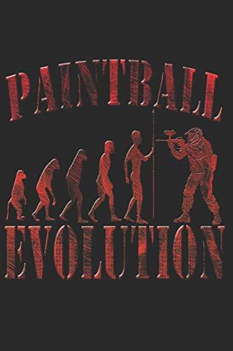 PAINTBALL NOTIZBUCH: Paintball Notizbuch die Perfekte Geschenkidee für Paintball Fans. Das Taschenbuch hat 120 weiße Seiten mit Punktraster die dich beim Schreiben oder skizzieren unterstützten.