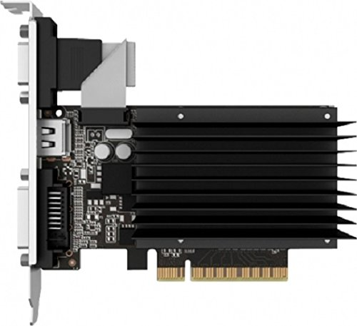 Palit GeForce GT 730 Silent 2GB DDR3 Nvidia Graphics Card (PCI Express 2.0, HDMI, DVI-D, VGA, 64 Bit)