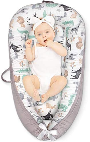 Cosy Nation Baby Lounger Baby Nest for Co Sleeping Ultra Soft Breathable Cotton Waterproof Insert product image