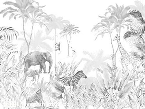 WAFJJ Fotomurales Decorativos Pared Retro y Animal Medieval Poster Gigante Fotomurali Quadri Murali Decorazione Tamaño:W250XH175 CM