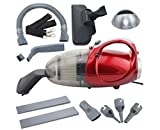 EG EKWA Group® 220-240 V, 50 Hz, 1000 W Vaccumm Cleaner for Home Blowing and Sucking Dual Purpose Vacuum Cleaner (Standard Size, Red)