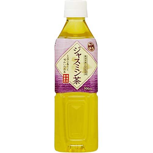 富永貿易 神戸茶房 ジャスミン茶 500mL×4本入 [1110]