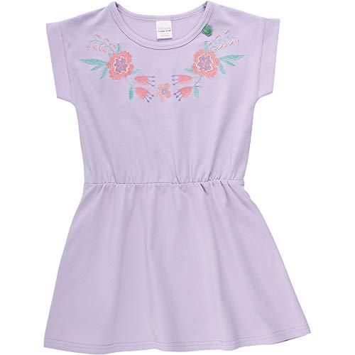 Fred's World by Green Cotton Aloha Flower Dress Vestito, Viola (Lavender 015381701), 4 (Taglia Unica: 80) Bimba