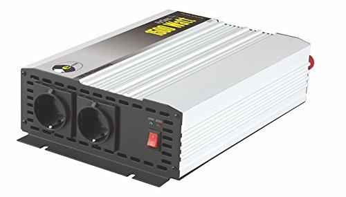Sinus-Wechselrichter 12 V DC/230 V AC 50 Hz- 1500 Watt Dauerleistung