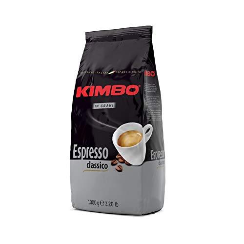 Kimbo Chicchi di Caffè Interi Kit con 2 x Espresso Classico - 2 Buste da 1kg