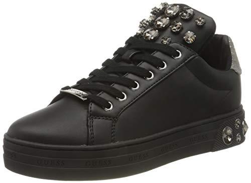 Guess Damen MAREY/Active Lady/Leather Like Oxford-Schuh, Schwarz, 37 EU