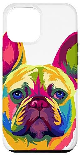 iPhone 12 Pro Max Pop Art French Bulldog Cute Gift Fur Mom Dog Dad Frenchie Case