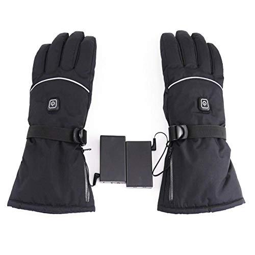 Beheizte Handschuhe, Fünf-Finger-Handschuhe, Dreistufige Temperatureinstellung, Beheizbare Handschuhe, Winddicht Wasserdicht, Batteriebetrieben, Outdoor Ski Reiten Motorrad Fahrrad Für Herren Damen