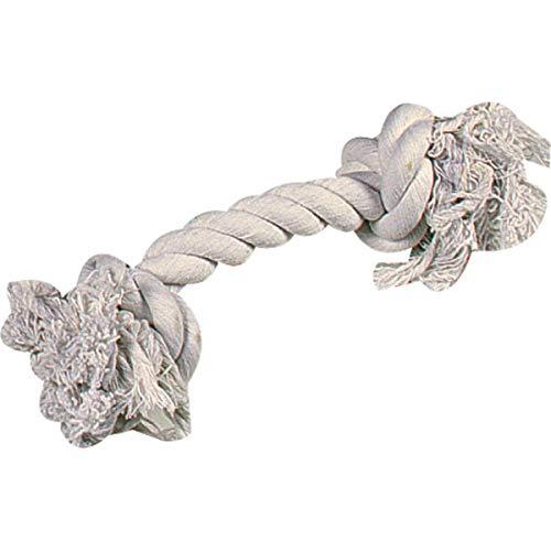 Hundespielzeug: Baumwollknoten BEIGE 40cm #504623